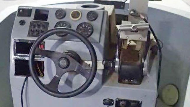 Drone boat command and control console aboard a vessel captured by the Yemeni Navy (file image courtesy Conflict Armament Research)