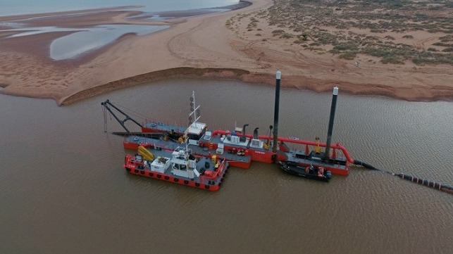 Maritime Constructions Takes Delivery of Damen Dredger and