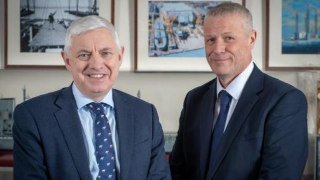 Tony Graham and Paul Owen