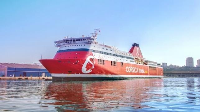 Jean Nicoli ferry, Corsica Linea