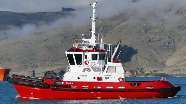 Lyttelton Port Company Takes Delivery of Robert Allan Harbor Tug