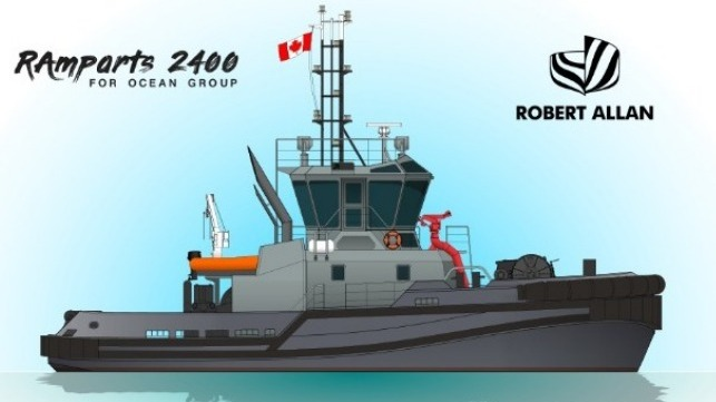 Robert Allan Ltd  Wins Contract to Design Tugs for Canadian Navy