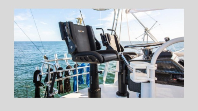 Figure 1. Allsalt Maritime Shoxs shock mitigating seating for military, commercial, and recreational watercraft. Allsalt Maritime  is expanding in response to increasing global demand for maritime shock mitigation technology.