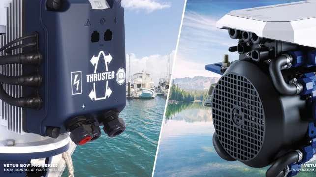 VETUS thrusters and electric propulsion solutions can now be connected to the NMEA 2000 network