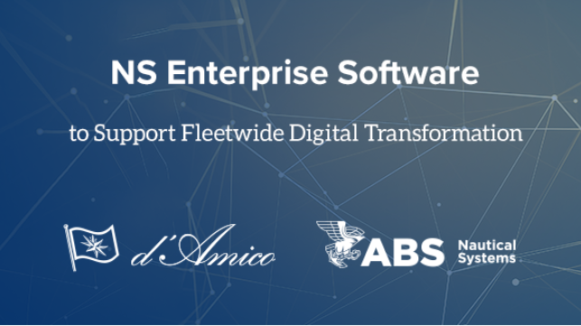 ABS NS will replace legacy software on a fleet of 70 vessels to support data-driven reliability and improved operational performance.