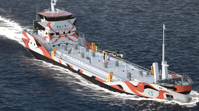 "Corvus Energy will supply the battery-based ESS to Kawasaki Heavy Industries to integrate into the zero-emissions all-electric propulsion and electrical systems aboard the ""e5 tanker"" under construction for Asahi Tanker."