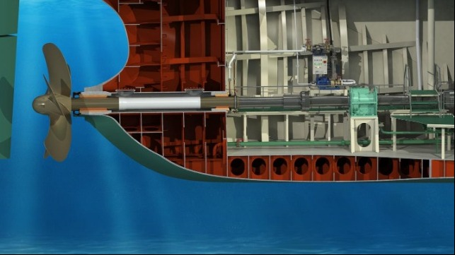 Thordon's seawater lubricated propeller shaft bearing system eliminates oil pollution from the ocean and waterways