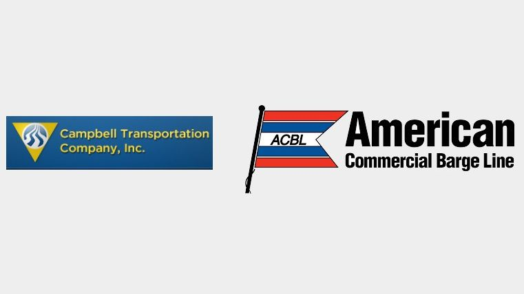 Campbell Transportation & American Commercial Barge logos