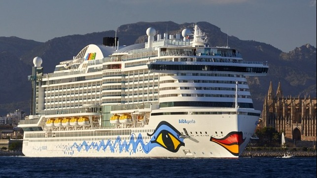 Carnival's AIDA and COSTA suffered IT outage