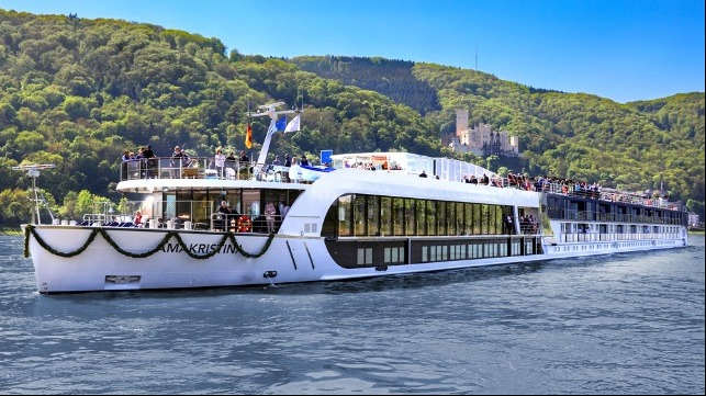 AmaWaterways extended cruise pause for river trips