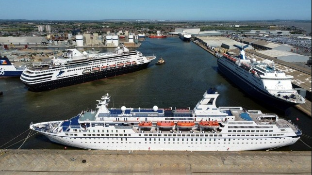 CMV cruise ships ordered auctions for debts as CEO acquires business assets