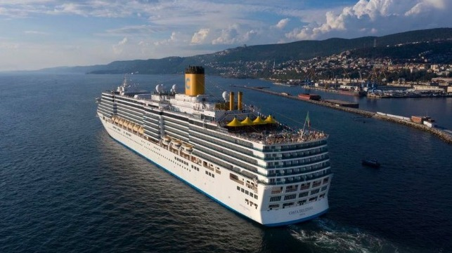 Costa Cruises began resuming cruise service first Carnival Corp brand
