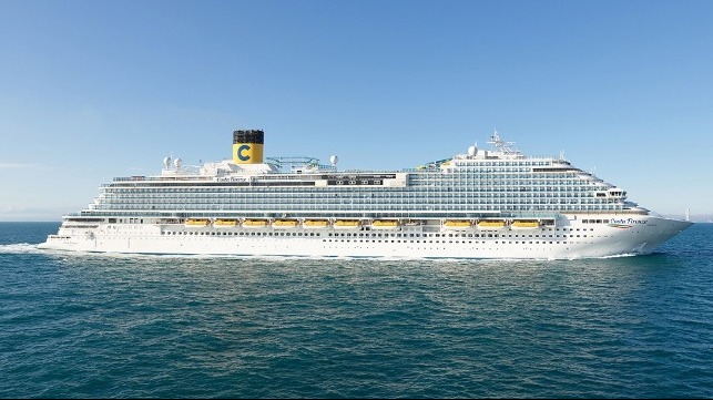 Carnival's Costa Cruises takes delivery from Fincantieri