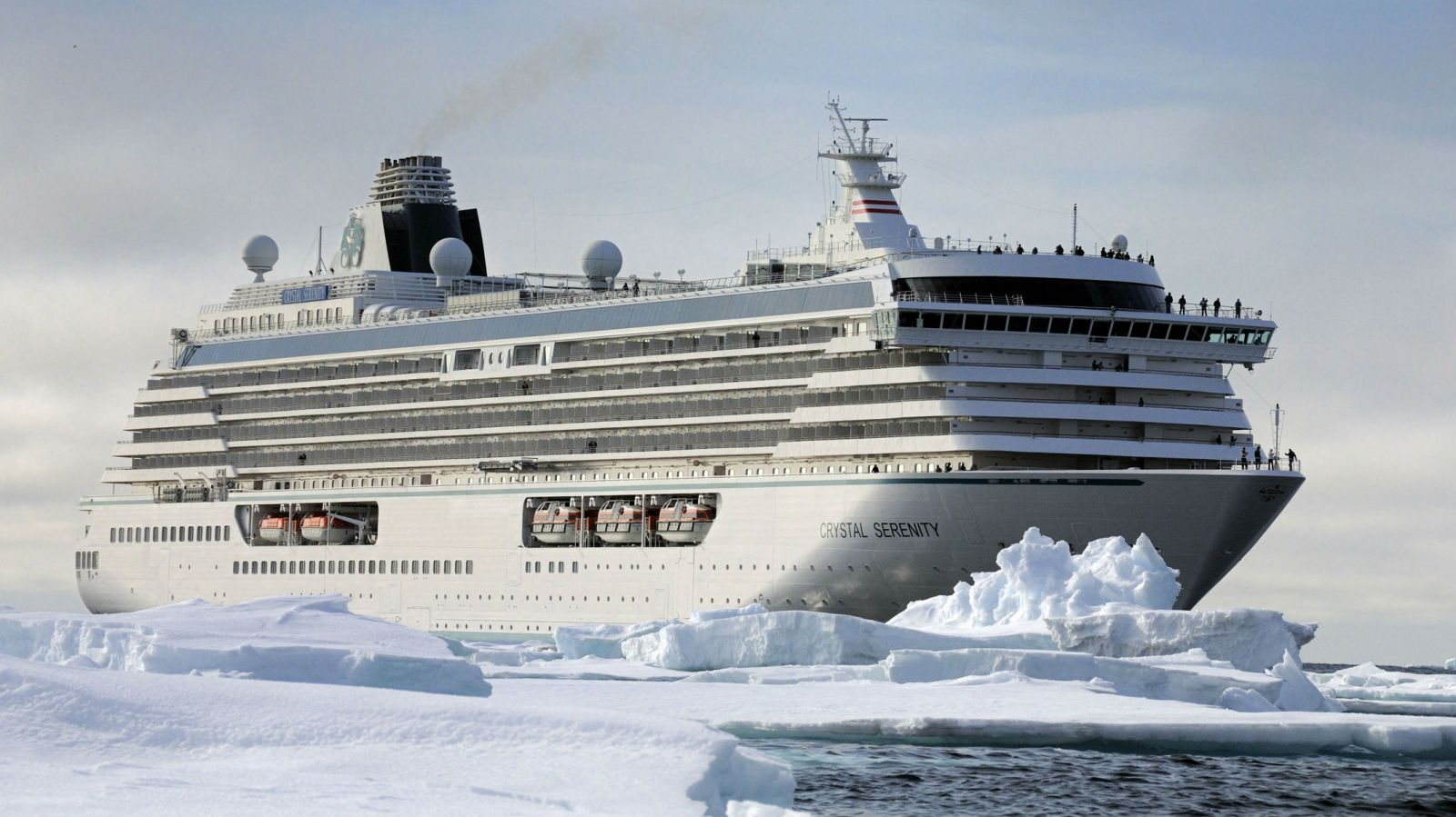 Uncharted Waters Cruise Ships Sail The Arctic