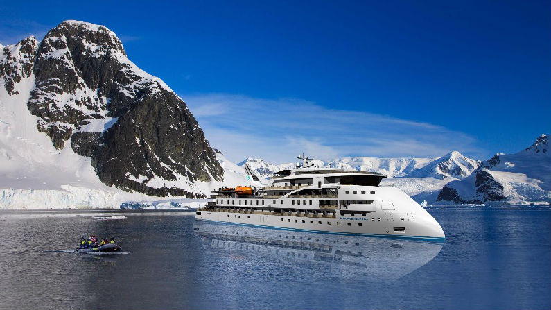 Aurora Expeditions vessel