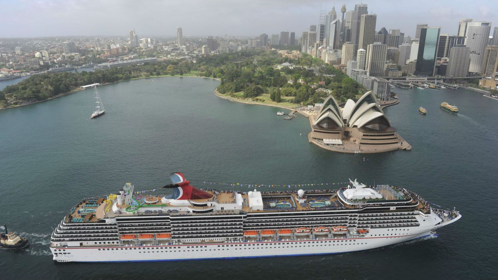 Record Year For Australia S Cruise Industry