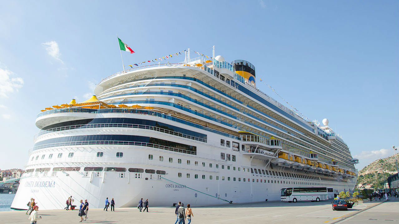 Costa Cruises' current flagship vessel Costa Diadema, credit Luca ...