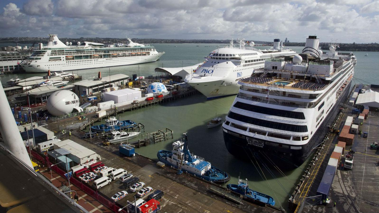 Auckland Cruise Numbers Up