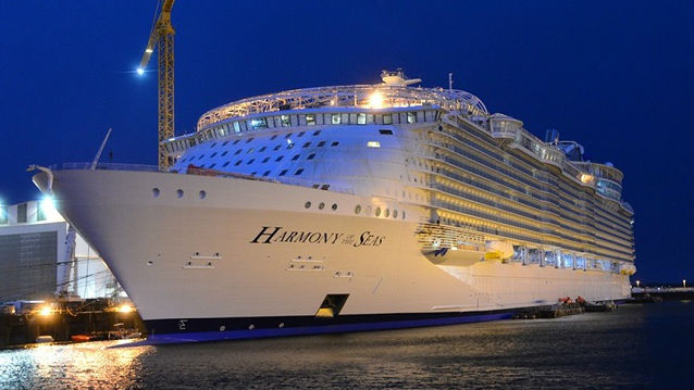 Harmony Of The Seas Delivered