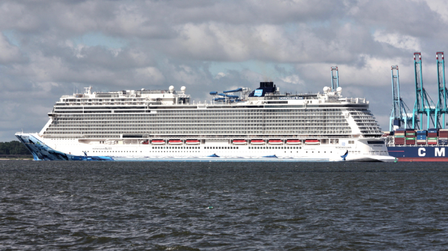 Norwegian Cruise Line Holdings is sending its ship to Europe