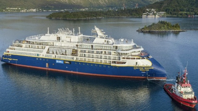 Ulstein building X-Bow expeditino cruise ships