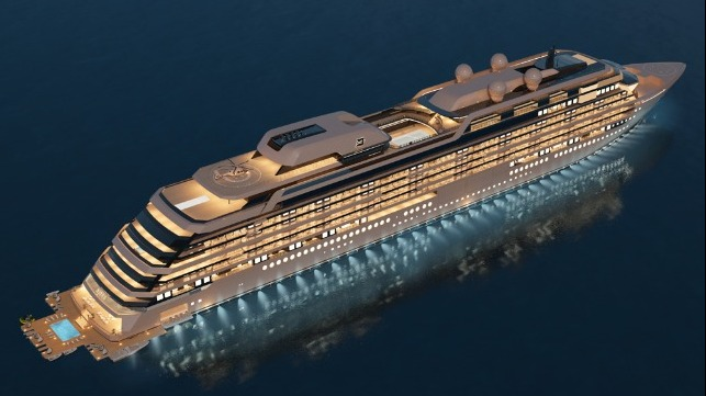 Meyer to build residental yacht cruise ship Njord