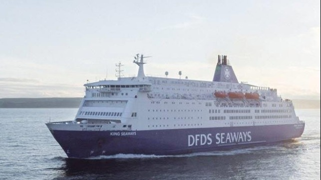 DFDS is resuming passenger ferry service from the UK now that travel restrictions are being removed