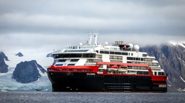 crew members on Hurtigruten cruise ship test positive for COVID-19