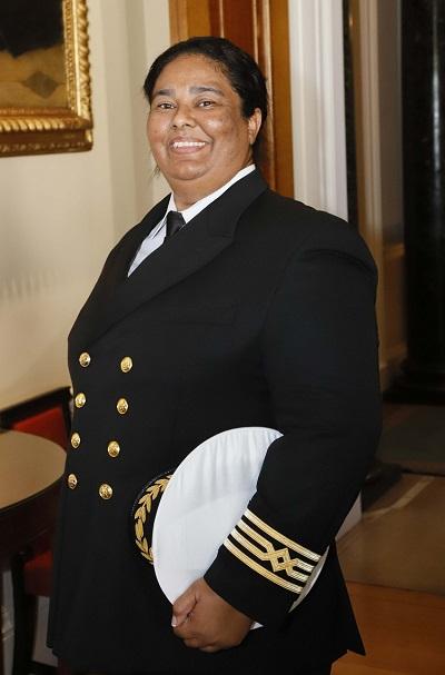 Captain Belinda Bennett Awarded Merchant Navy Medal Belinda Bennet