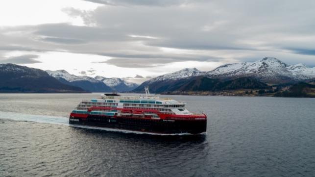 Photo: UAVPIC.COM/Tor Erik Kvalsvik/Kleven/Hurtigruten