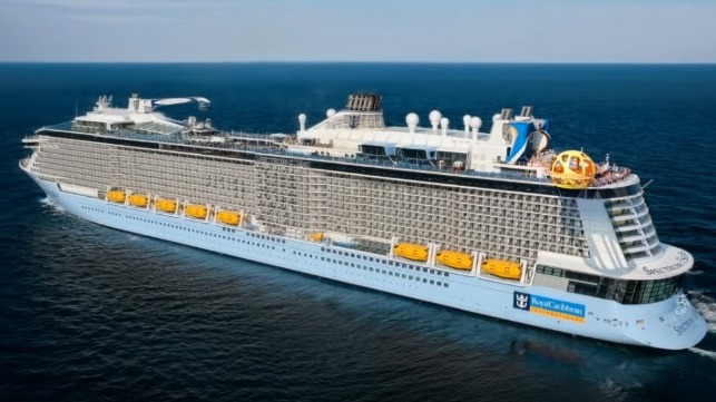 Spectrum of the Seas has debuted in Shanghai