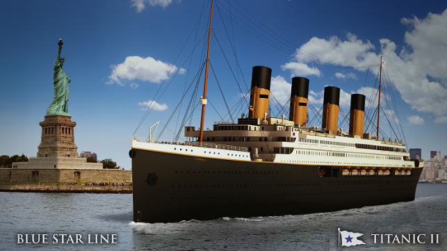 Deltamarin to Oversee Regulation Compliance for Titanic II