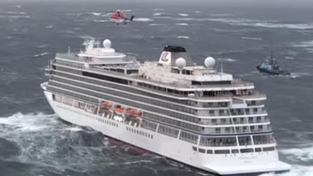 Watch: Viking Sky Sends Mayday, Passengers Evacuated
