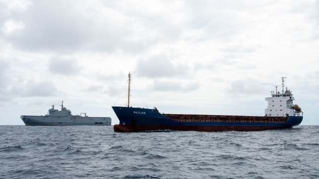 French Navy seizes cocaine record off Africa