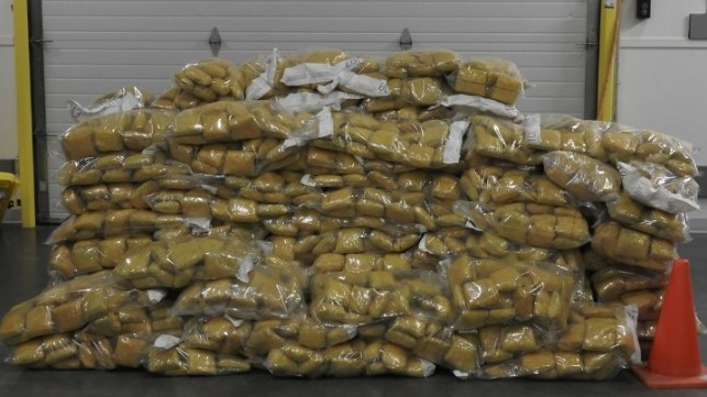 record opium seizure at Port of Vancouver