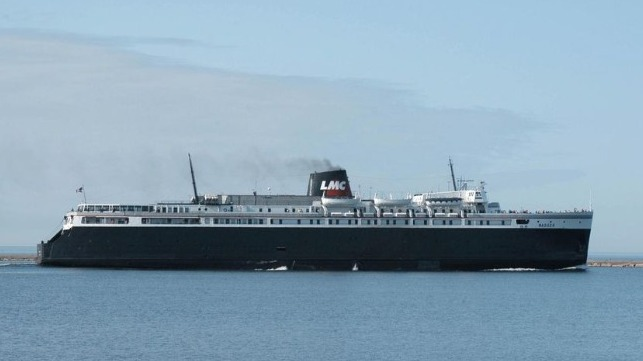 historic ferry on Great Lakes acqired by Interlake