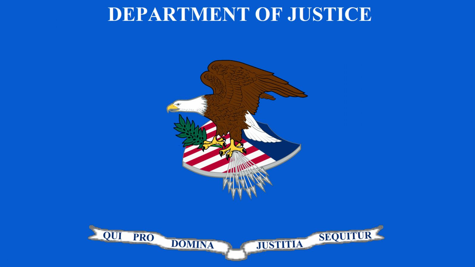 Department of Justice flag