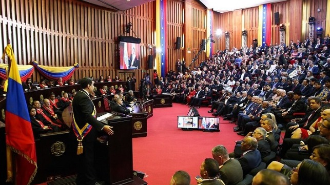 Maduro was inaugurated for a contested and controversial second term on January 10, 2019.