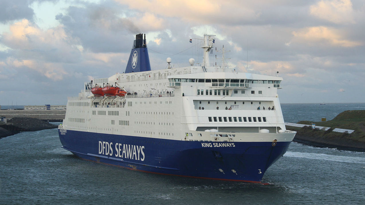 DFDS vessel