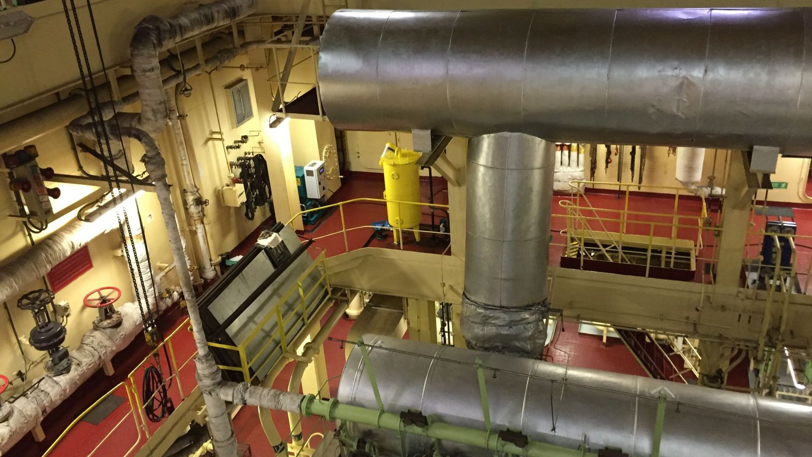 Maersk Engine Room