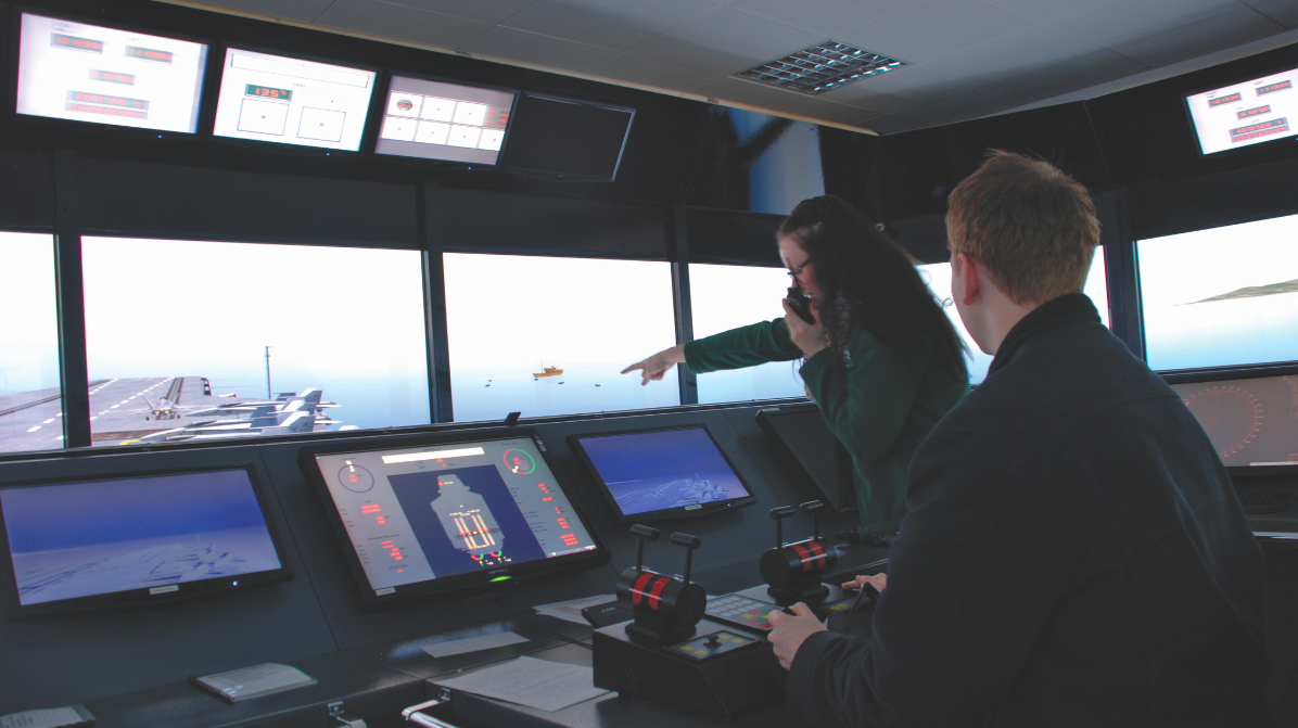simulation training ECDIS