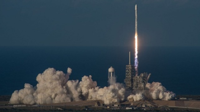 Inmarsat satellite launch