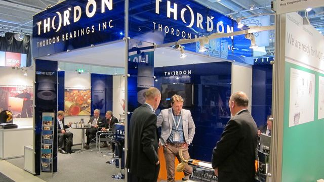 Thordon Bearings exhibited its COMPAC system at Nor-Shipping this week