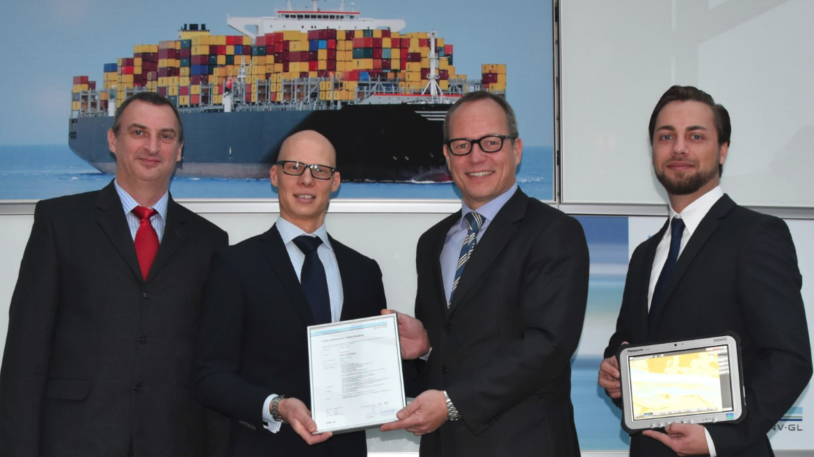 SevenCs officially receives the Type Approval for ORCA Pilot G2 from DNV GL in Hamburg