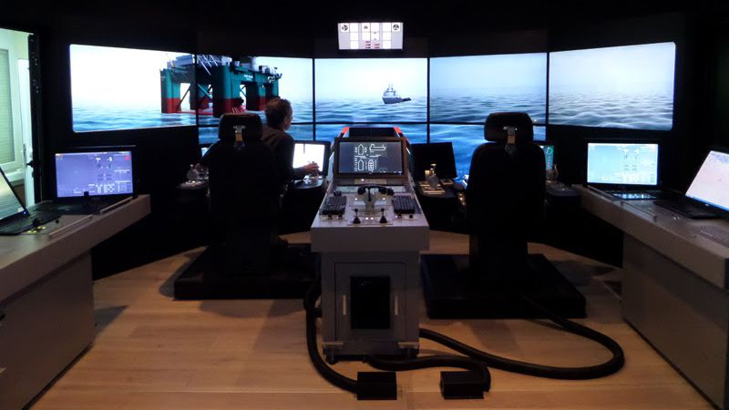 New simulator wing features DNV certified VSTEP Dynamic Positioning and Full Mission Bridge Simulators and type approved ECDIS classroom.