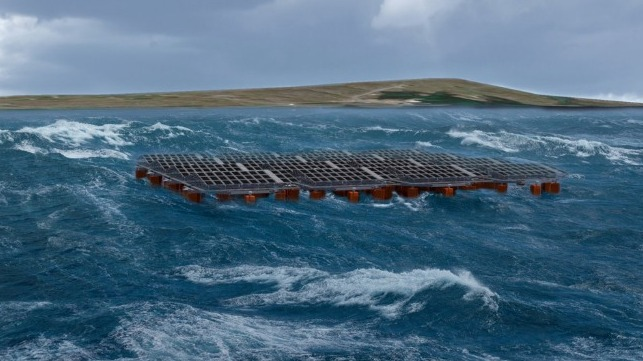 testing floating offshore solar in harsh conditions