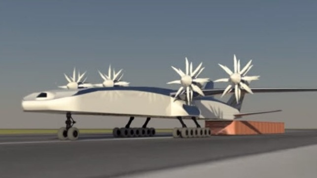 Boeing's container plane concept
