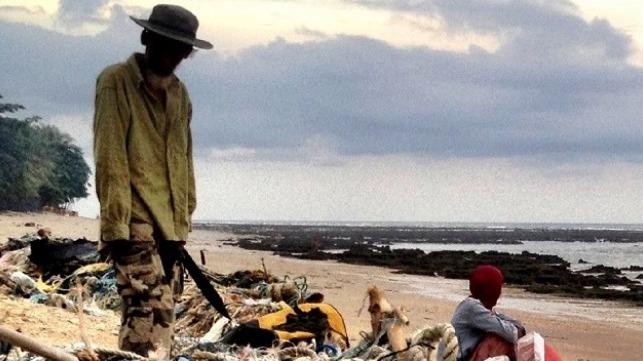 Seafarers on Kish Island