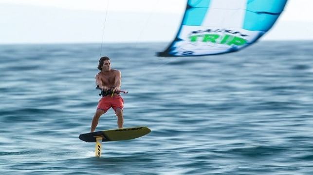 Jesse Richman, an American kitesurfer and kiteboarder (source Wikipedia)