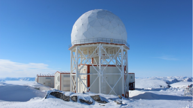 North Warning System Long Range Radar Site Photo: Pierre Leblanc